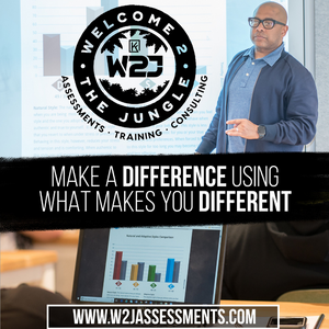 Welcome 2 the Jungle (W2J) DISC Assessment + Debrief