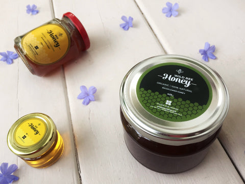 divine organics, honey, bees honey, kithul treacle
