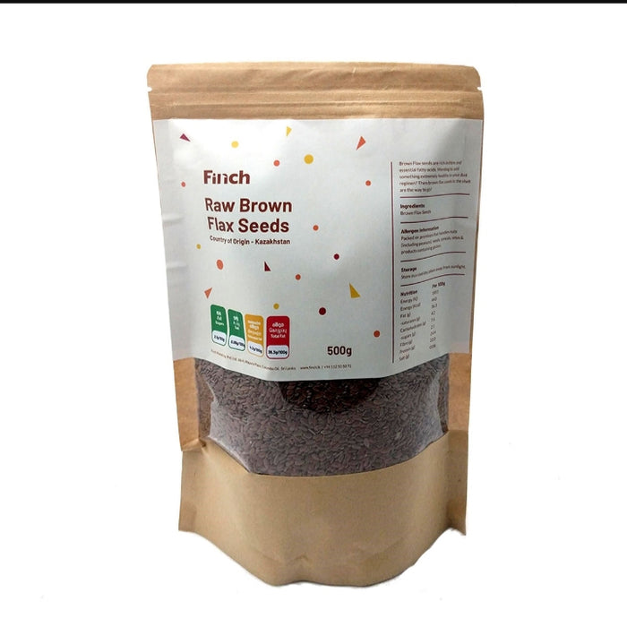 Raw Brown Flax Seeds 500g