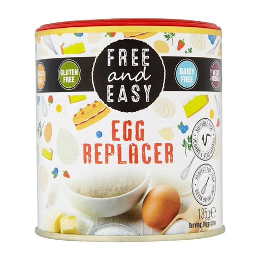 Free and Easy - Egg Replacer - 135g