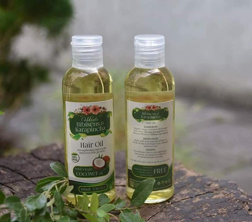 Hibiscus & Karapincha Hair Oil - 100ml