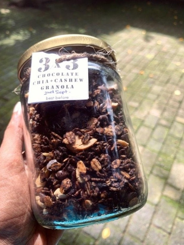 Granola - 3C (Chocolate, Chia and Cashew)