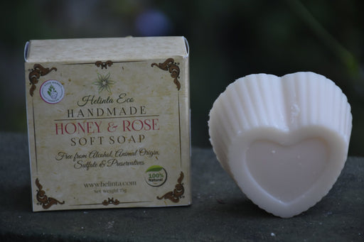 Honey & Rose Handmade Soap - 75g