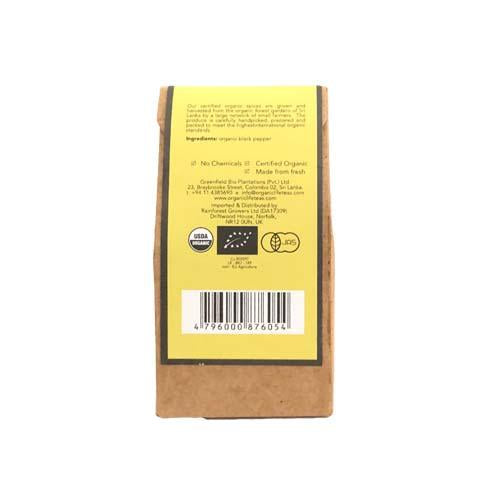 Organic Spices - Black Pepper - 30g