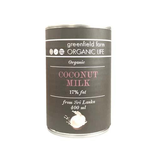 Organic Coconut Milk (Silver Easy Open Can) - 400ml