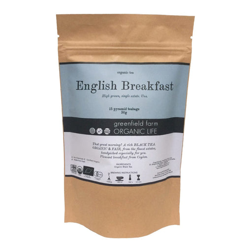 Organic English Breakfast Tea - 2g x 15 PTB