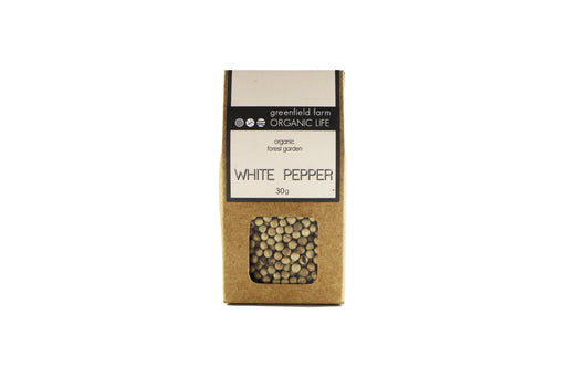 Organic Spices - White Pepper - 30g