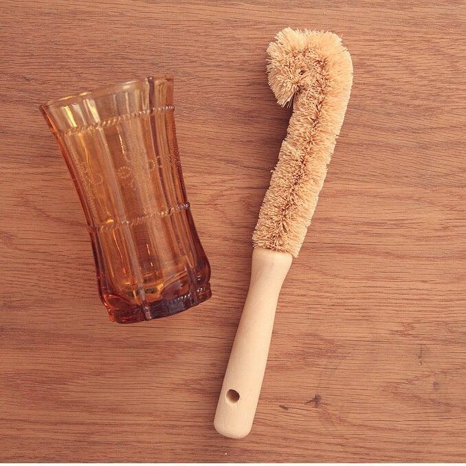 Coir Scrubber with Handle - 27cm