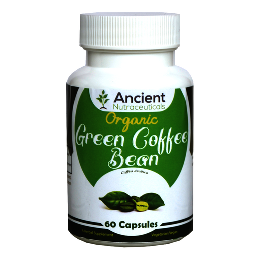 Organic Green Coffee Bean  - 60 Capsules