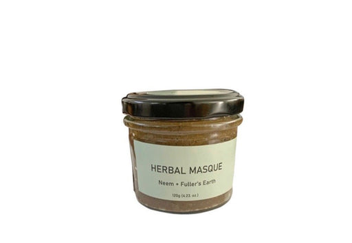 Herbal Masque (Neem + Fuller's Earth) -  120g