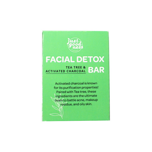 Tea Tree and Activated Charcoal Facial Detox Bar - 50g