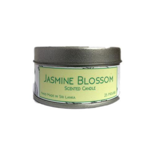 Jasmine Blooms - Tin Candle