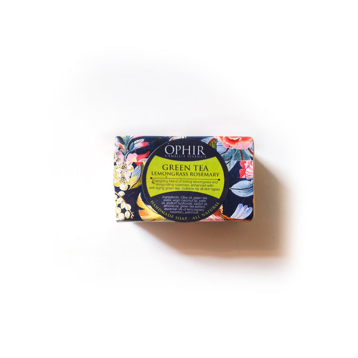 Green Tea Lemongrass Rosemary Soap - 110g