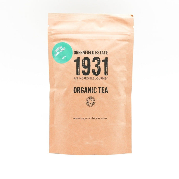 1931 Organic Green Earl Grey Tea - 100g