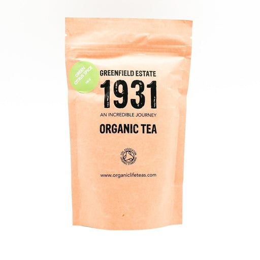 1931 Organic Green Citrus Spice Tea- 100g (Sencha Green Tea)