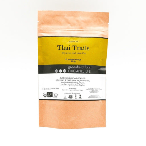 Thai Trails - Organic Lemongrass & Ginger Tea - 1.5g x 15 PTB