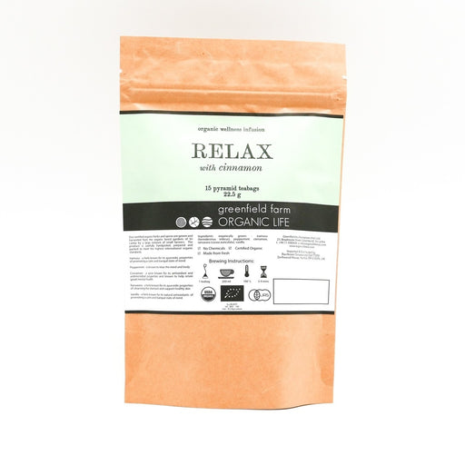 Relax with Cinnamon Organiclness Infusion