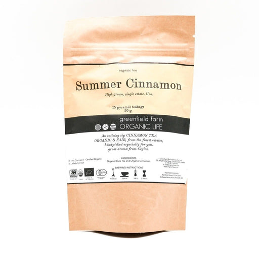 Summer Cinnamon Organic Tea - 1.5g x 15 PTB