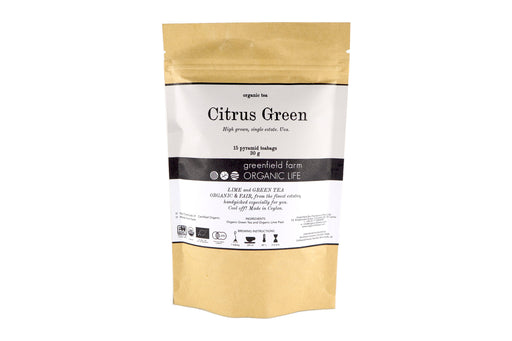 Citrus Green - Ceylon Green Tea Lime Peel (2g x 15 PTB)