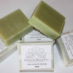 Lime, Lemon & Nutmeg Soap - 80g