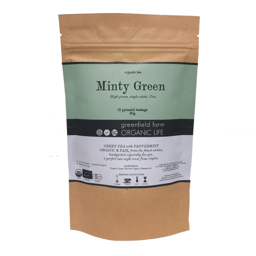 Minty Green - Organic Green Tea with Mint - 2g x 15 PTB