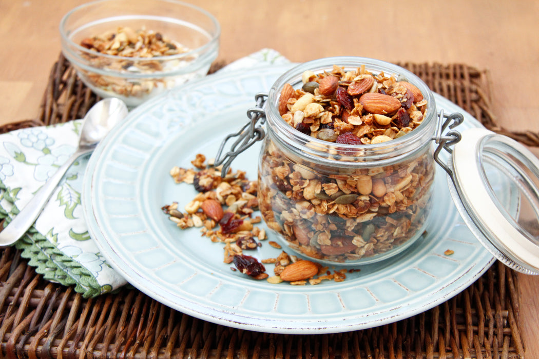Granola : Nutty Cranberry