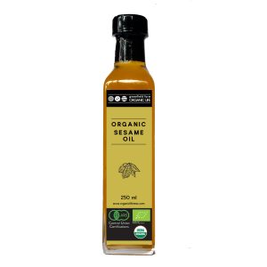 Organic Sesame Oil - 250ml