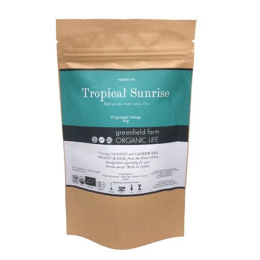 Tropical Sunrise - Organic Coconut & Cashew Tea - 2g x 15 PTB