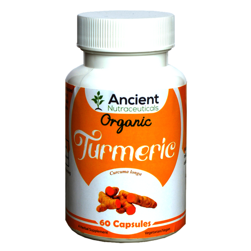 Organic Turmeric With Black Pepper  - 60 Capsules