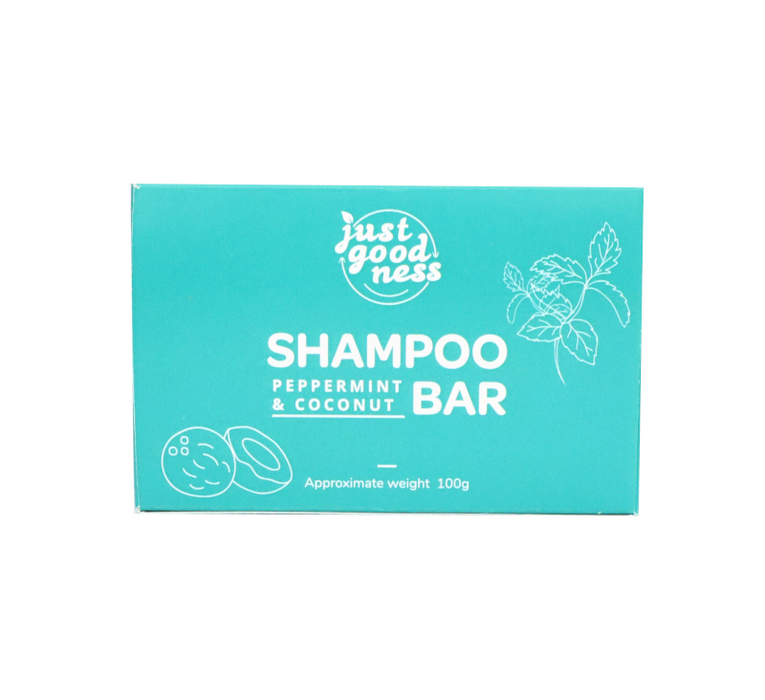 Peppermint and Coconut Shampoo & Conditioner Bar- 100g