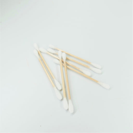 Wooden Cotton Buds - 100 Pieces
