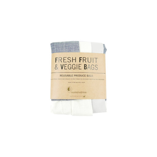 Reusable Fruit & Veggie Bag : 3 Pack