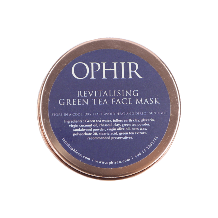 Revitalising Green Tea Face Mask - 100g