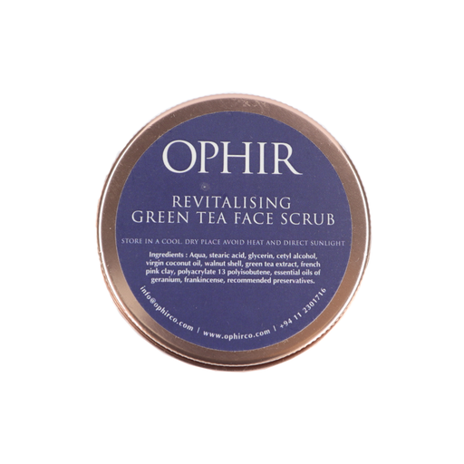 Revitalising Green Tea Face Scrub- 100g