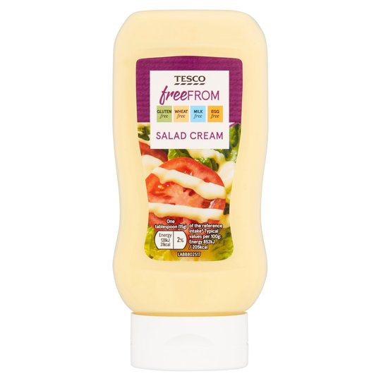 Tesco Salad Cream Squeezy - 440g