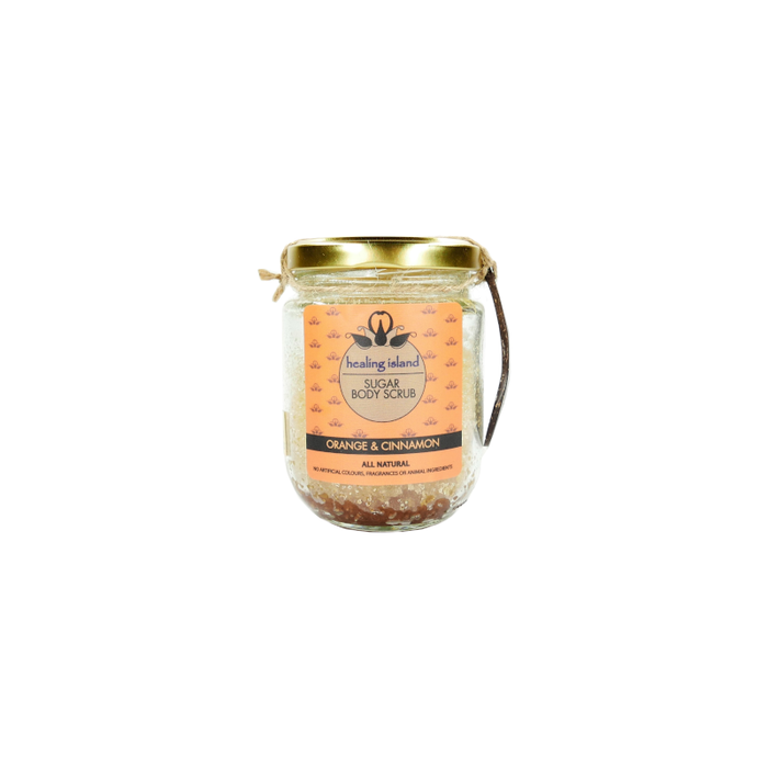 Sugar Body Scrub -  Cinnamon & Orange - 150g