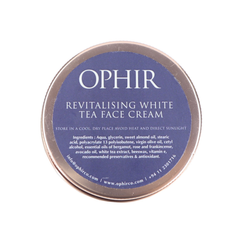 Revitalising White Tea Face Cream- 100g