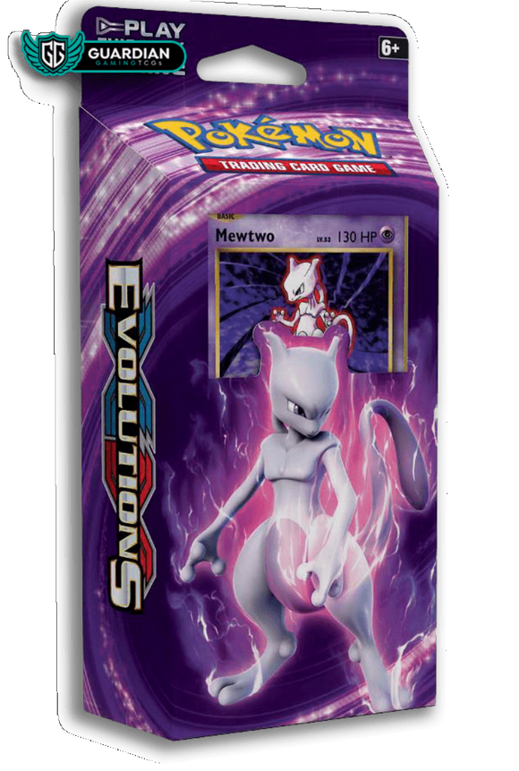 Mewtwo Mayhem Theme Deck TCGO Code - Ancient Origins Pokemon TCGO Code