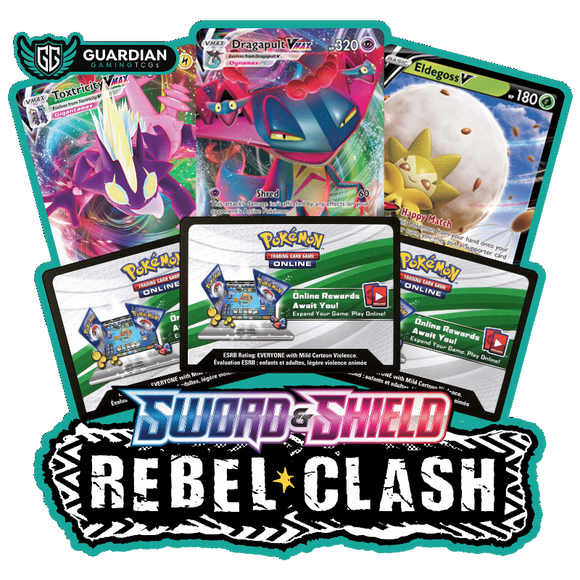 Sword and Shield Rebel Clash Pokemon TCGO Code - Ancient Origins Pokemon TCGO Code
