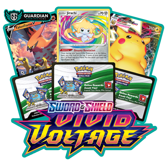 Sword and Shield Vivid Voltage Pokemon TCGO Code - Ancient Origins Pokemon TCGO Code