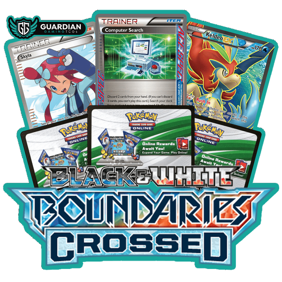 Boundaries Crossed Pokemon TCGO Code - Ancient Origins Pokemon TCGO Code