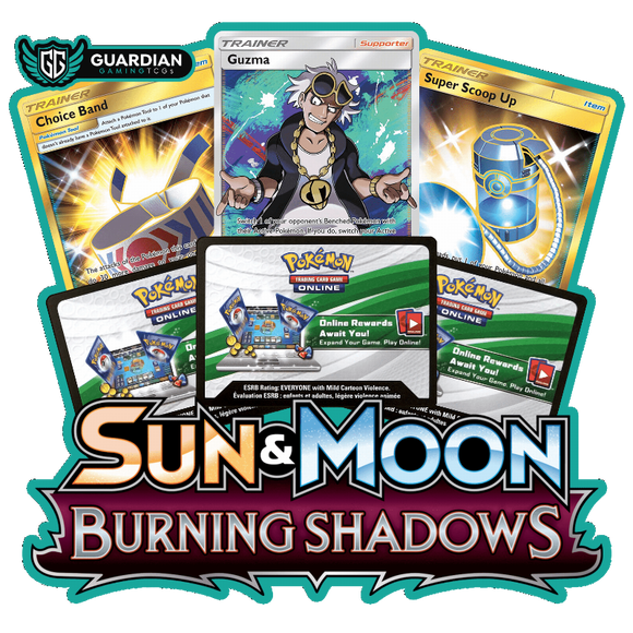 Burning Shadows Pokemon TCGO Code - Ancient Origins Pokemon TCGO Code
