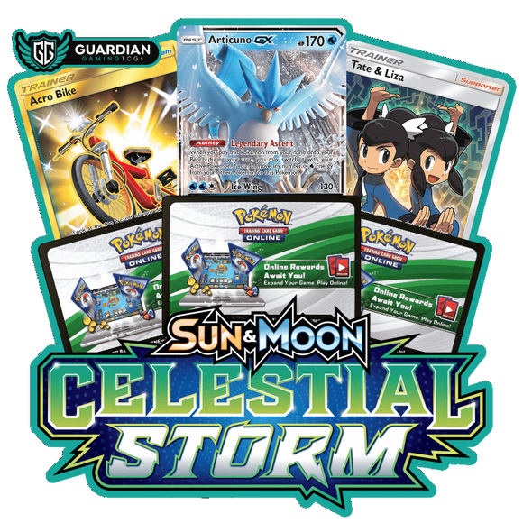 Celestial Storm Pokemon TCGO Code - Ancient Origins Pokemon TCGO Code