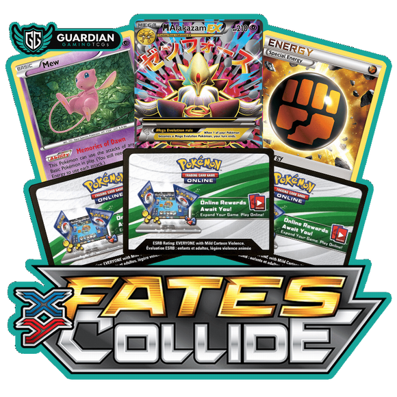 Fates Collide Pokemon TCGO Code - Ancient Origins Pokemon TCGO Code