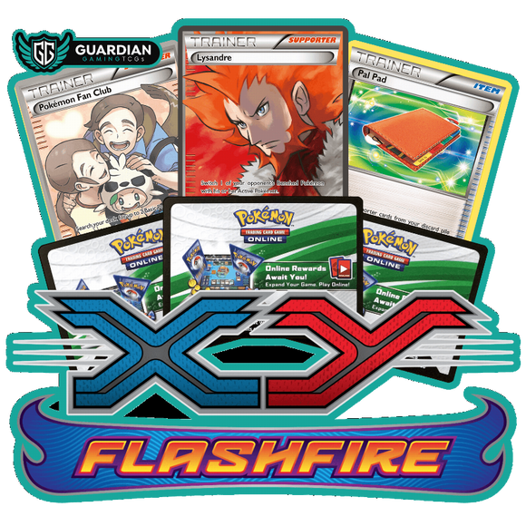 Flashfire Pokemon TCGO Code - Ancient Origins Pokemon TCGO Code