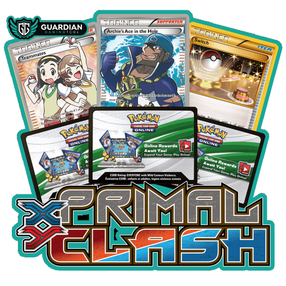 Primal Clash Pokemon TCGO Code - Ancient Origins Pokemon TCGO Code