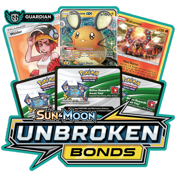 Unbroken Bonds Pokemon TCGO Code - Ancient Origins Pokemon TCGO Code