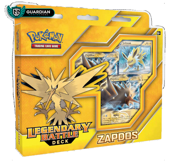 Legendary Battle Deck: Zapdos TCGO Code - Ancient Origins Pokemon TCGO Code