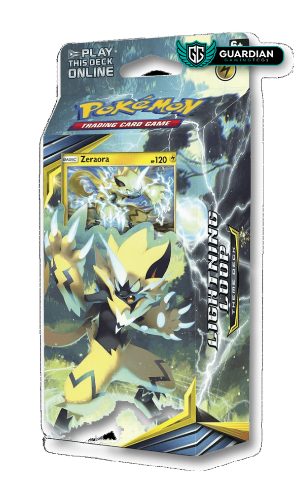 Lightning Loop Theme Deck Pokemon TCGO Code - Ancient Origins Pokemon TCGO Code