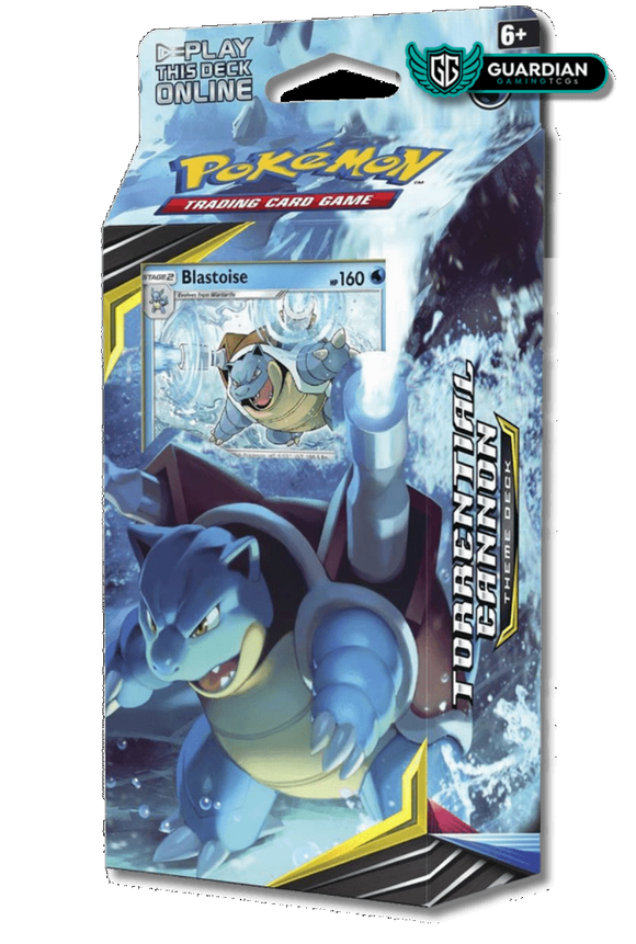 Torrential Cannon Theme Deck Pokemon TCGO Code - Ancient Origins Pokemon TCGO Code